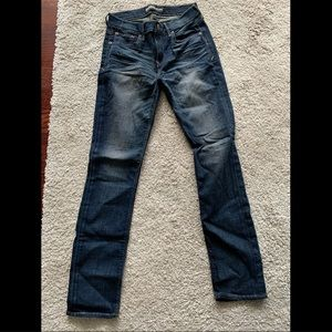 Express Washed Skinny Jeans Size 4R